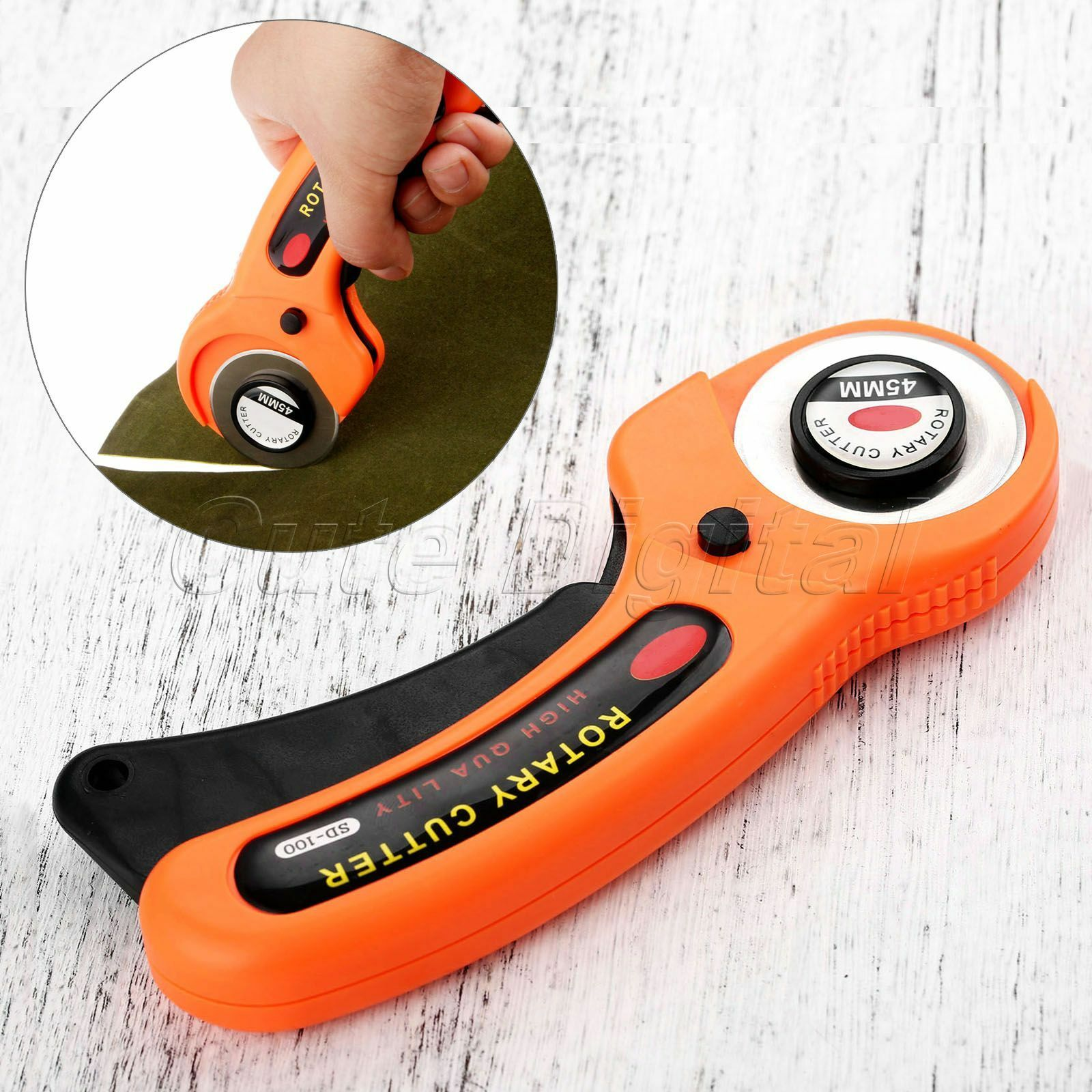 45mm Premium Round Cutters Set Sewing Rotary Cloth Guiding Cutting Machine Quilters Quilting Fabric Craft Tool