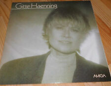 DDR- AMIGA +++  Gitte Haenning  +++ Schallplatte Vinyl