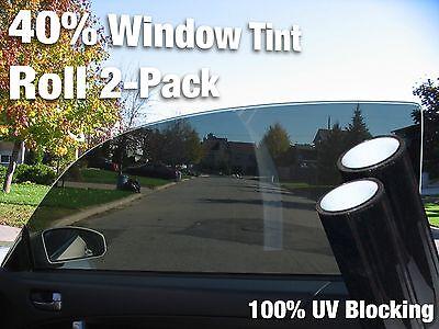 27 Inch x 60 Inch Long Roll Pack 3M 40% VLT Medium Dark ...