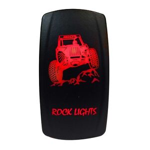 3x Set LED Light Bar Rocker Switch For UTV Polaris RZR 900 1000 Replaces