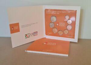 Coffret BU Euros 2021 Italie 8 pièces 1 centimes à 2 Euros
