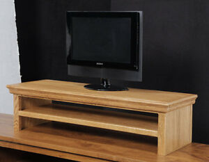 Oak TV Riser, Laptop, Printer Stand, Soundbar Traditional Style Made in the USA