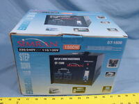 Simran St-1500 1500-watt Step Up And Step Down Voltage Transformer 120/240/120