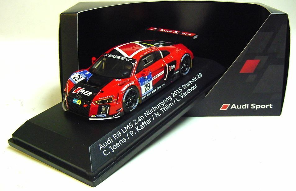 1 43 Spark 2015 AUDI R8 LMS  29  C. Joens P. Kaffer L. Vanthoor 24 H Nürburgbague  prix raisonnable