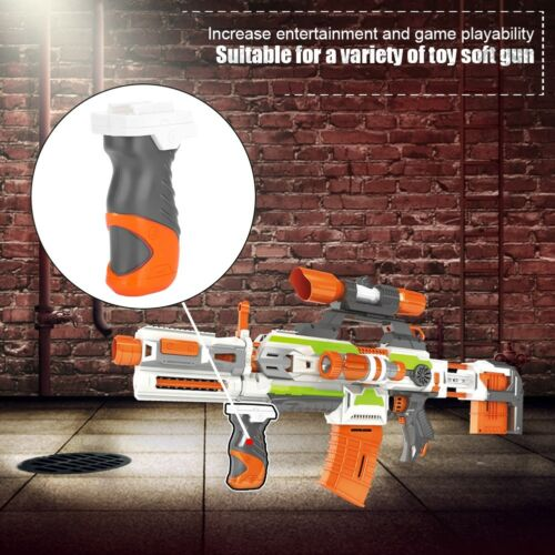 Tactic Toy Gun Front Grip Foregrip Hand Grip Attachment Mod for Nerf N-strike