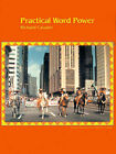 Practical Word Power: Dictionary-Based Skills in Pronunciation and Vocabulary Development by Richard Cavalier (Paperback / softback, 2000)