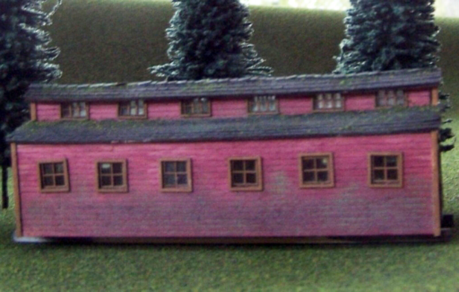 LOGGING DINING SKID N Scale Model Railroad Structure Unpainted Laser Kit RSL3021