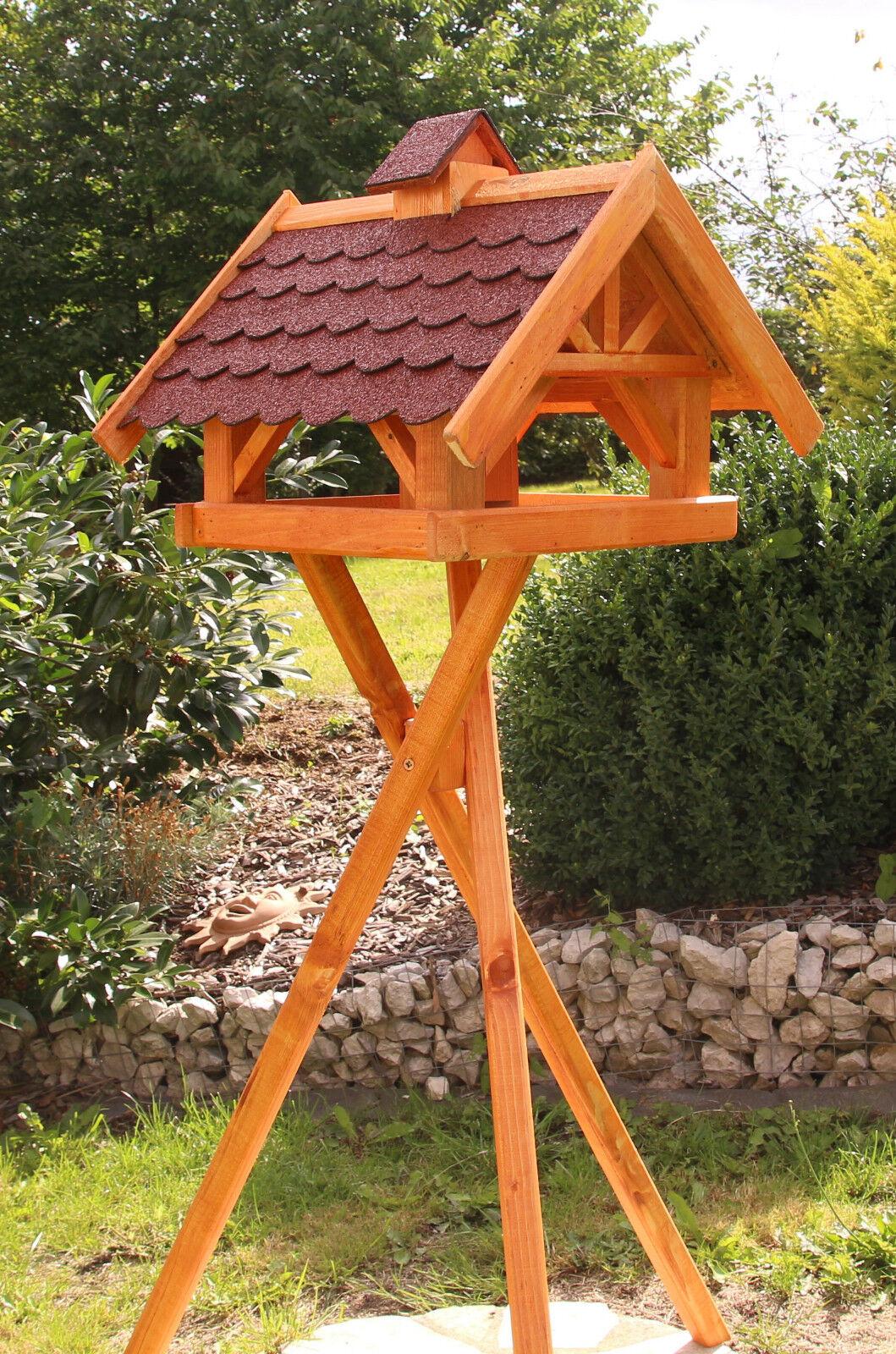 Großes Vogelhaus, Vogelhäuser behandelt wahlweise wahlweise wahlweise mit Ständer und Solar Typ 33   Ausgezeichnetes Handwerk    Hochwertig    Mangelware  6ef3c0