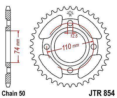 JT Rear Sprocket JTR854 36 Teeth fits Yamaha XS400 SE 80-82