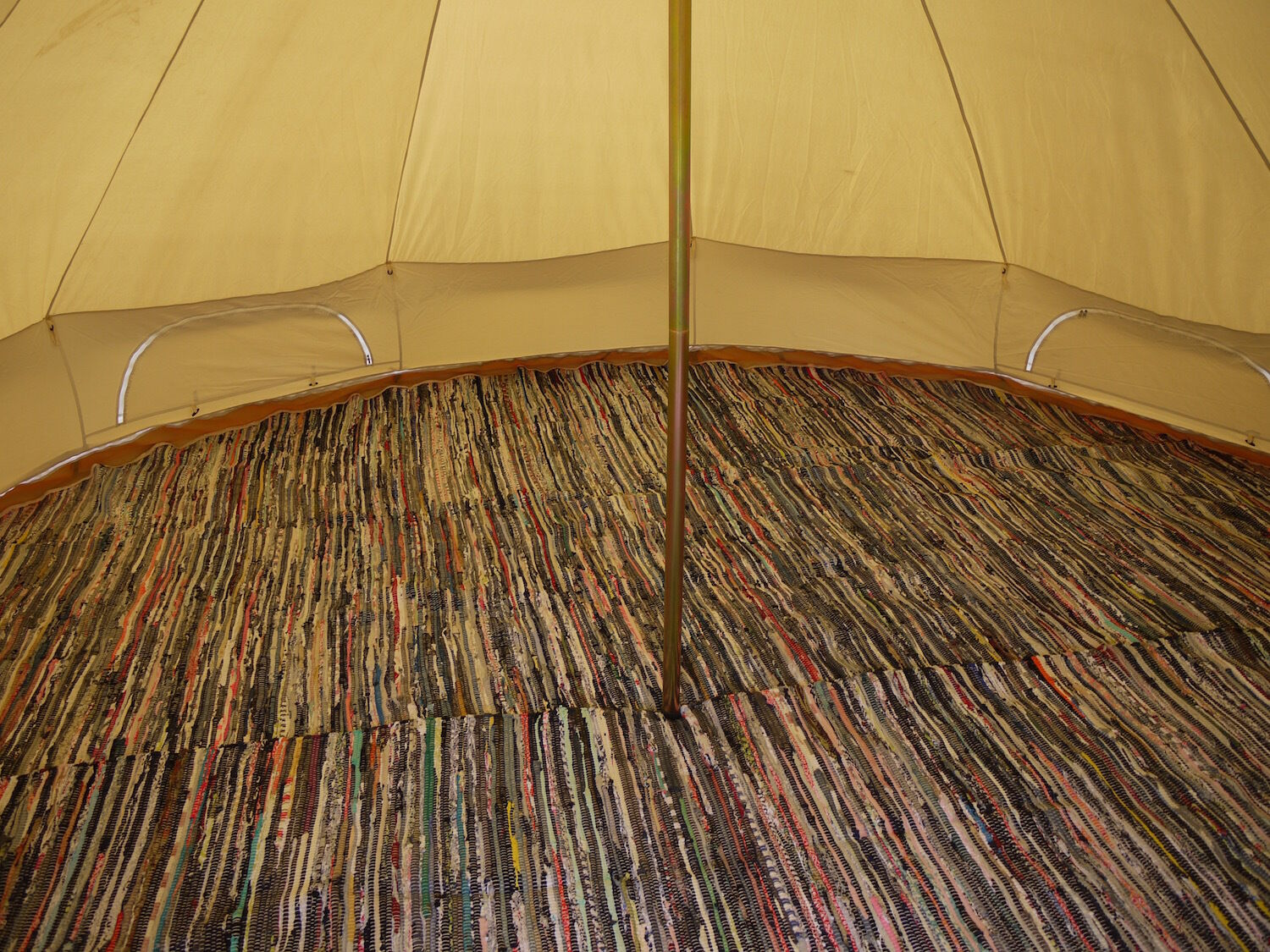 Bell Tent Mat - Half Moon Rugs 3m, 4m, 5m, 6m By Bell Tent Boutique (not Coir)