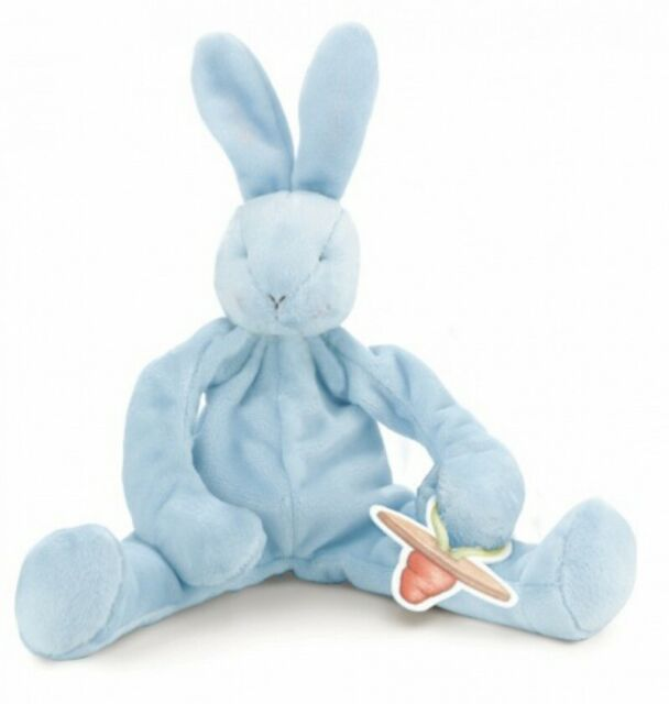 Bunnies By The Bay: Bud the Blue Bunny - Silly Buddy Plush Toy