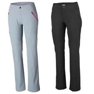 COLUMBIA-Passo-Alto-de-Marche-Randonnee-SoftShell-Pantalon-pour-Femme-Nouveau