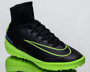 más lejos Buena voluntad carbohidrato  Nike MercurialX Proximo II TF 2 men soccer shoes football NEW black  831977-034 | eBay