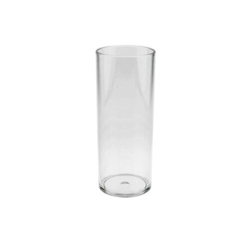 PC Mehrweg Glas Plastik DoimoFlair Set 6 Stück Longdrinkglas Kunststoff