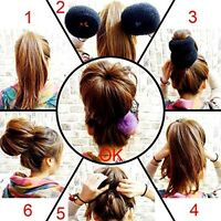 Qy Extra Large Size Hair Mesh Chignon Donut To Make The Largest The Most Round