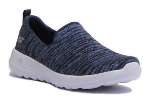 femme Gowalk Joy Mesh 3 Skechers 8 Slip Uk Navy Sur Baskets Taille pESw4qdHU