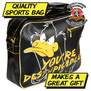 02f793c215 Daffy Duck Bag. Looney Tunes Sports Bag Cartoon Character Great for Uni  School