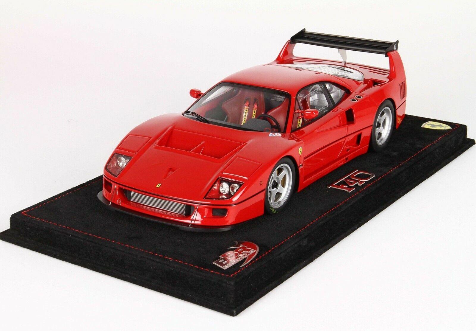 BBR Ferrari F40 LM (ferrari Red Paint) 1 18 P18139A Brand New  SUPER NICE