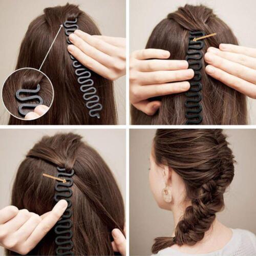 Mode Flechten Französisch Braid Tool Roller Twist Styling Werkzeug Haar Styling