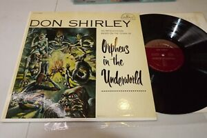 DON SHIRLEY Orpheus In The Underworld RARE Cadence Mono 1st CLP 1009 NM- Jazz LP