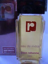 EAU de METAL de PACO RABANNE Pour FEMME JUMBO XXL Eau de Toilette 400 ml VINTAGE