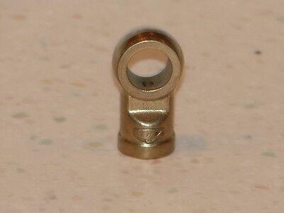 NICE USED ORIGINAL GENUINE PORSCHE 356A 356B 356C BRAKE LINE CLAMP FITTING