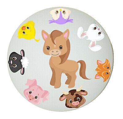 NAME auch LED Kinderzimmer Lampe Deckenleuchte BAUERNHOF Tiere Küken