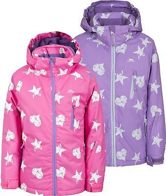 Trespass Childrens Girls Greer Waterproof Parka Jacket