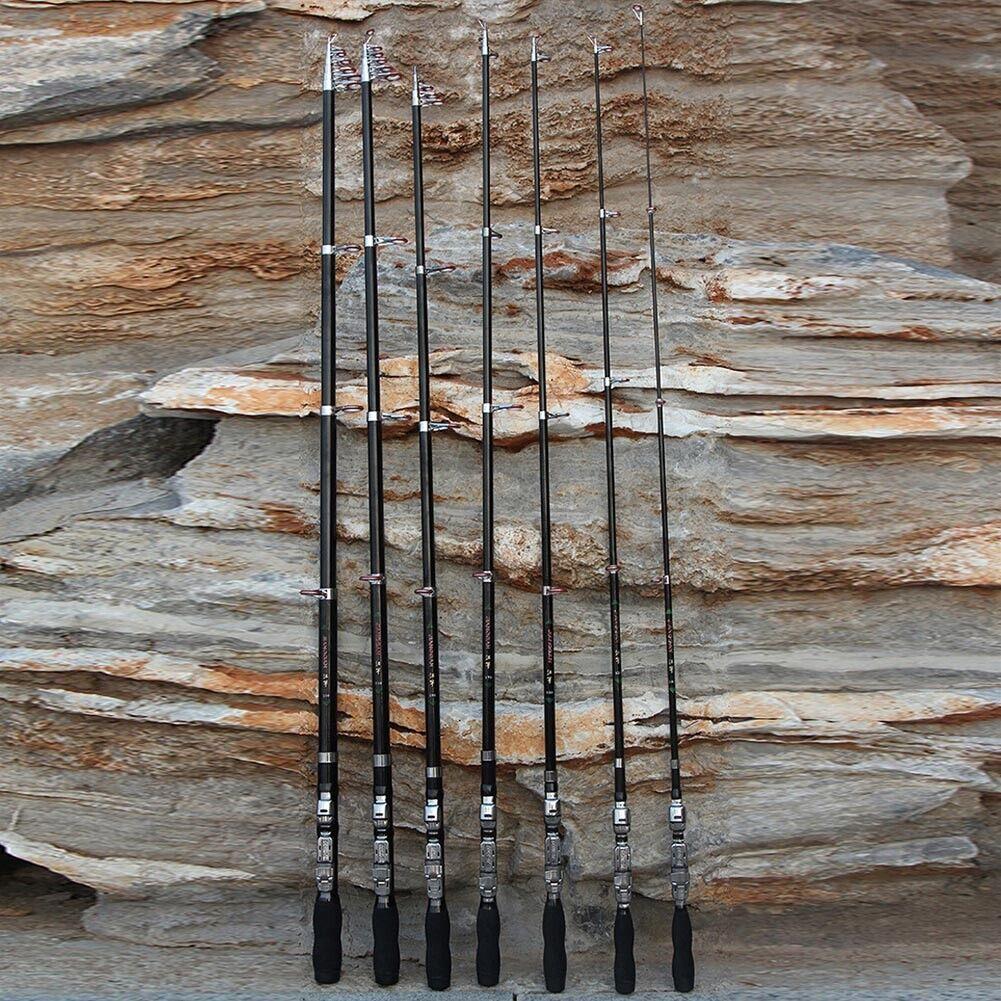 Ultra Light Carp Fishing Rod Hand Pole Telescopic Carbon Fiber Super Hard Stream