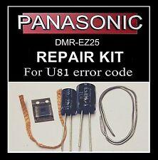 U81 error code repair kit DMR-EZ25 Panasonic dvd recorder fault inc MD5001t