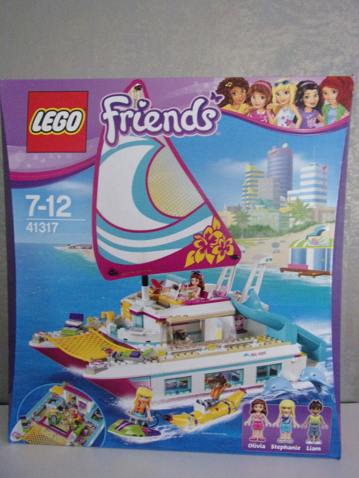 Lego Friends 41317 sol-catamarán-nuevo & OVP