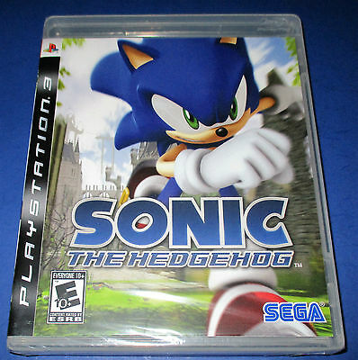 Sonic The Hedgehog Sony Playstation 3 Ps3 Factory Sealed Free Shipping 10086690019 Ebay
