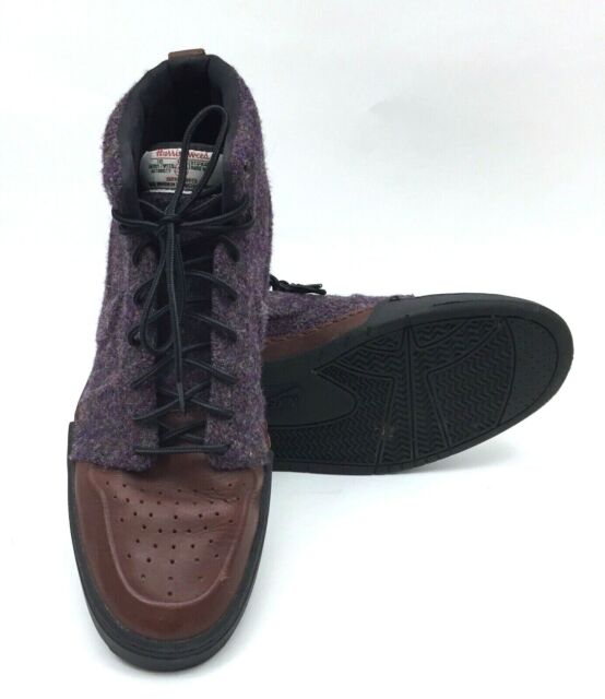 US 500 Pack Royal Harris 9 Purple Shoes Sz Brown Nike Mens 419444 Air Tweed Mid DIYEH9W2