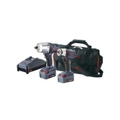 "Ingersoll Rand IQV20-2062 2pc IQV 20 1/2"" Impact & 3/8"" Impact Wrench Kit"