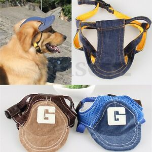Summer-Pet-Dog-Puppy-Baseball-Visor-Hat-Peaked-Cap-Sunbonnet-Outdoor-Topee