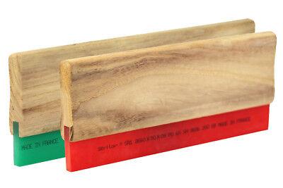 30cm Holz-Rakel in 65 70 75 Shore Siebdruckrakel Textildruck Holzrakel Siebdruck