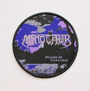 MINOTAUR-Power-of-Darkness-Woven-Patch-Protector-Morbid-Saint-Darkness