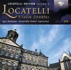 Locatelli-Edition Vol.2-Violin Sonatas von Ensemble Violini Capriccioso,Igor Ruhadze (2012)