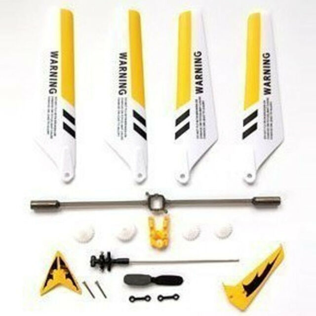 15 Main Blade Set for Syma S031G and Syma Compatible RC Helicopter 4pcs//set