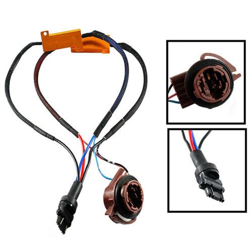 2x 3157 LED 50W 6ohm Load Resistor Adapter Fix Anti Hyper Flashing Error Issues