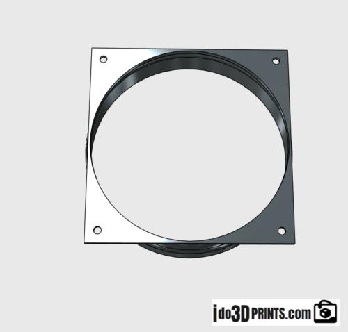 Fan Duct Cooling Shroud 4 Inch Vent 10 Pack Antminer S7 S9 S11 S15 T15 L3 PET