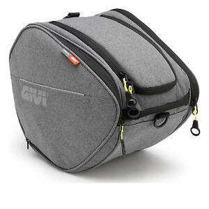 GIVI-EA105GR-Easy-T-Bolsa-DE-TUNEL-SCOOTER-rango-15L-Urbano-Gris-Equipaje-de-cercanias