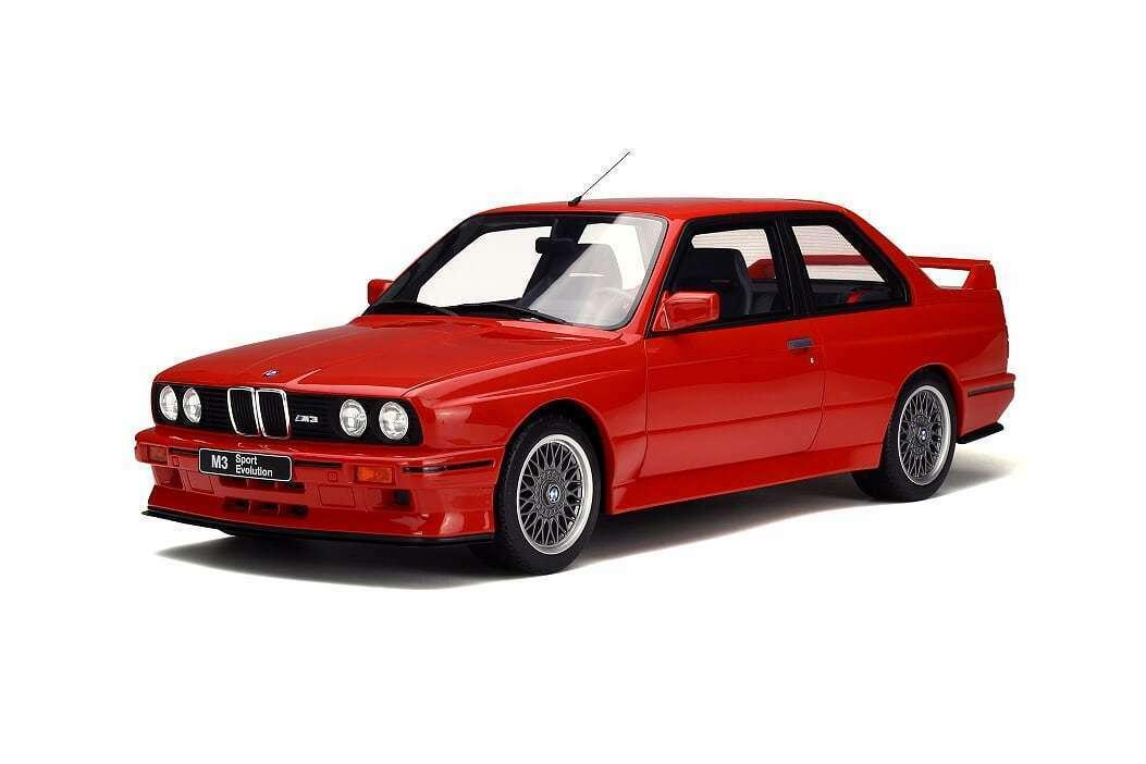 1 12 Otto go33 bmw m3 Sport Evolution rouge