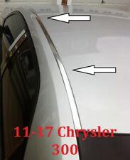 For 2011 2017 Chrysler 300 Chrome Roof Top Trim Molding Kit Fits Chrysler 300
