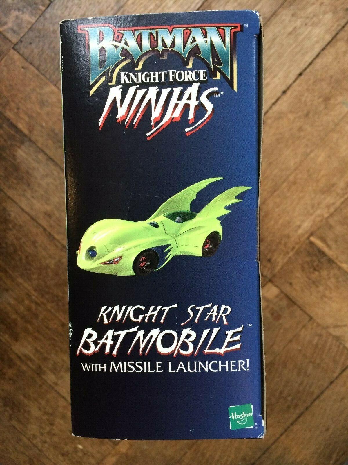 BATMAN CAVALIERE Star BATMOBILE da cavaliere cavaliere cavaliere forza Ninja Gamma, Hasbro 1998, Nuovo di zecca con scatola b30970
