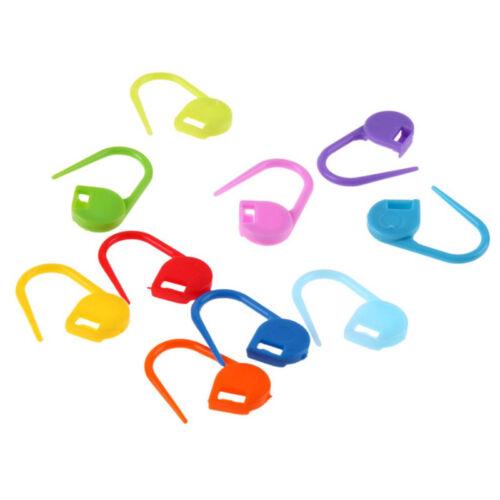 120 PCS Stricken Häkeln Stitch Marker Gestrickte Clip Needle Lock Neu