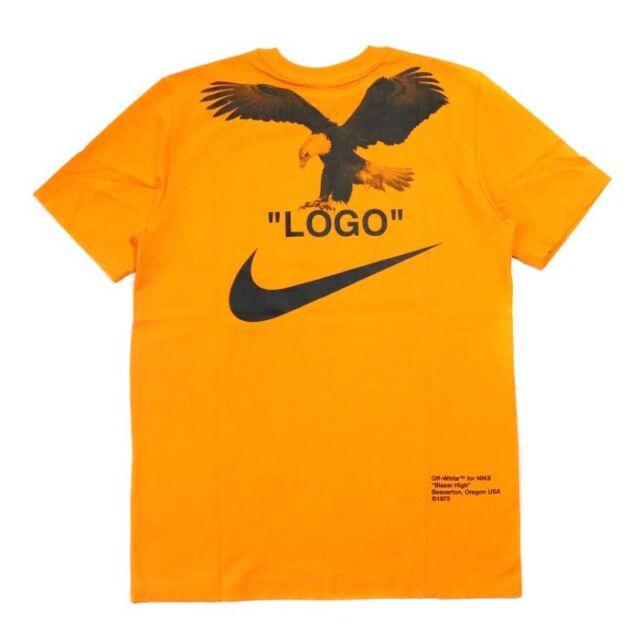 donde puedo comprar diseño novedoso mejor elección RARE Nike Off-white NRG A6 Am90 Tee Light Wild Mango Black Small S ...