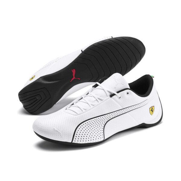 NIB Men's Puma SF Ferrari Future Cat ULTRA Motorsport shoes Kart Black 306241 03