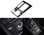Carbon Fiber Inner Gear Shift Box Panel Cover Trim For Mazda 3 Axela 2017 2018