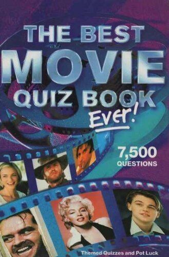 1 of 1 - The Best Movie Quiz Book Ever! (Puzzle House),Puzzle House